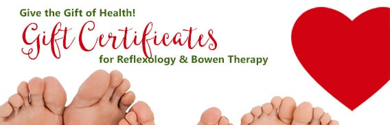 Gift Certificates - Eco Friendly and Healthy - Reflexology and Bowen Therapy, Chilliwack, BC